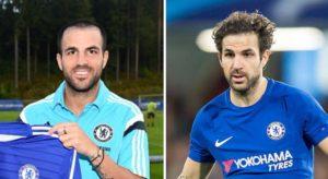 El antes y el después del implante capilar de Cesc Fábregas