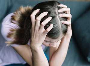 Caída del cabello - alopecia por estrés